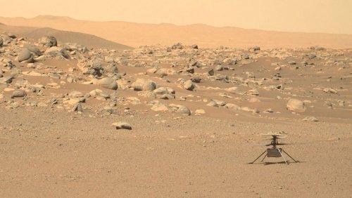 Mars-Erkundung: Helikopter »Ingenuity« schafft seinen bisher schwierigsten Flug