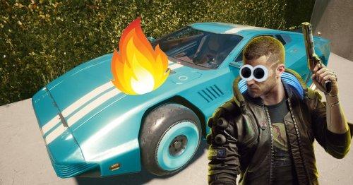 Cyberpunk 2077: Fan bekommt durch Unfall das absolut coolste Auto