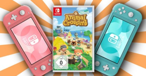 Switch Lite im Bundle: Konsole mit Animal Crossing bei Saturn stark reduziert