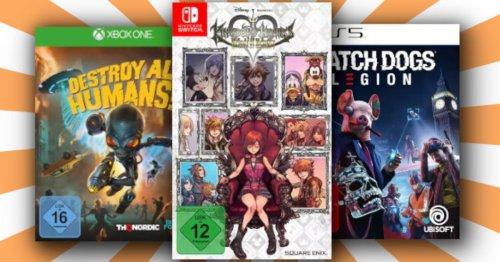 Spiele-Deal bei Saturn: Holt euch 3 Games für 49 Euro