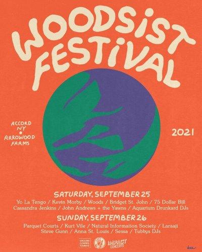 Yo La Tengo, Parquet Courts, Kurt Vile and More on 2021 Woodsist Festival
