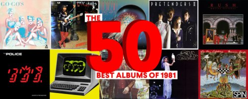The 50 Best Albums of 1981