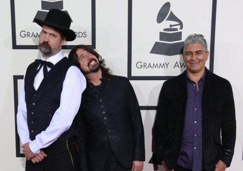 Ex-Nirvana Members Dave Grohl, Krist Novoselic and Pat Smear Still Jam Together
