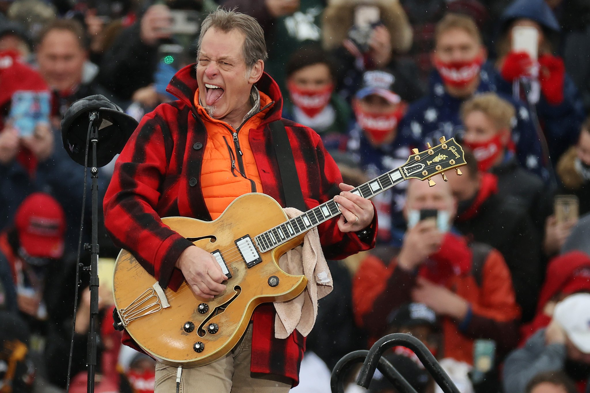 Ted Nugent denies racism claims, citing odd evidence