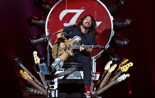 Dave Grohl Lends Throne to Greyhawk Bassist