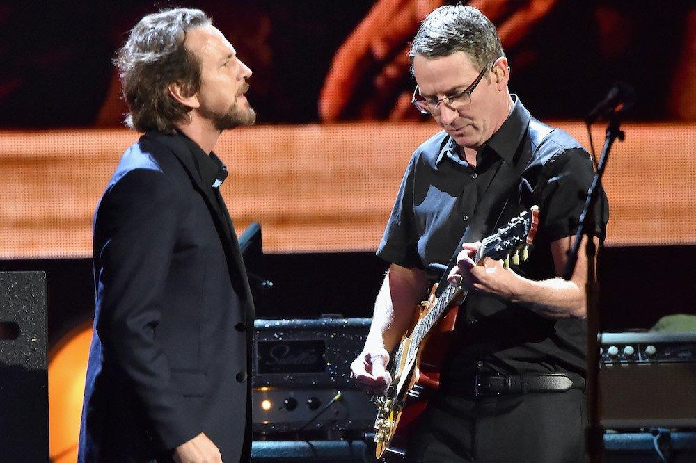 Stone Gossard Calls Eddie Vedder His 'Muse'