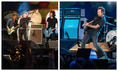 Watch Foo Fighters Perform with AC/DC's Brian Johnson at Global Citizen's Event