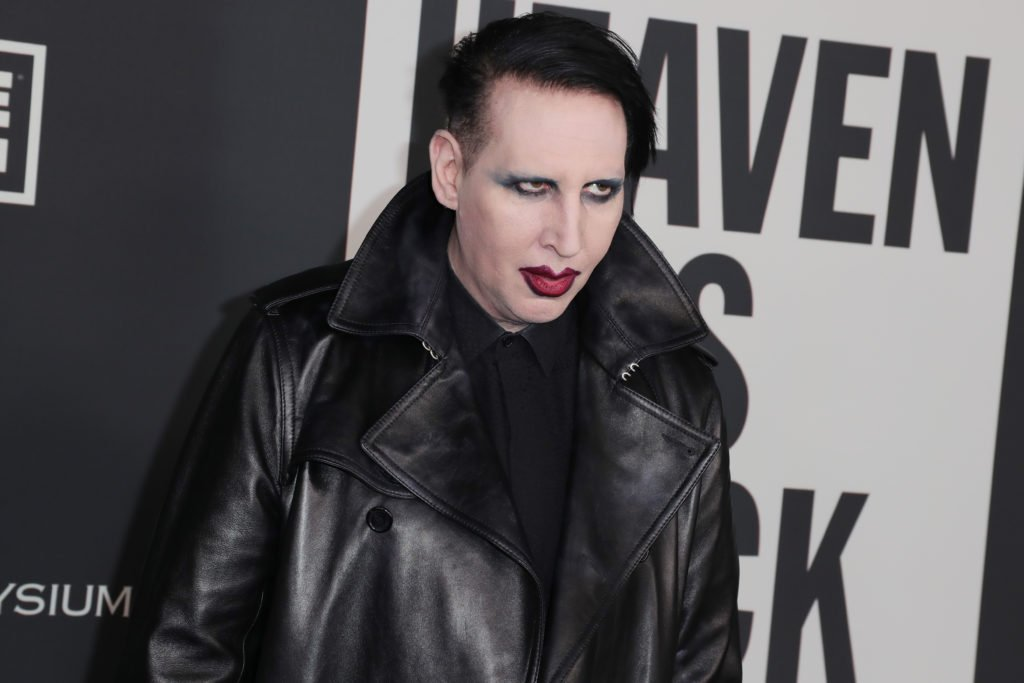 Marilyn Manson Wanted on Active Warrant in New Hampshire