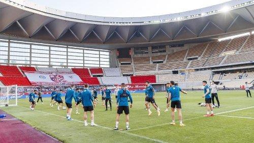 El Athletic pisa por tercera vez el césped de La Cartuja antes de una final
