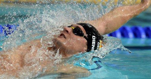 Diener schwimmt zum Olympia-Ticket