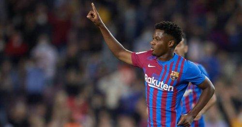 FC Barcelona: Fati trifft traumhaft bei Startelfcomeback gegen Valencia - Agüero-Debüt bei 3:1-Sieg