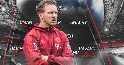 FC Bayern: Kader-Check, Nagelsmann mit Baustellen