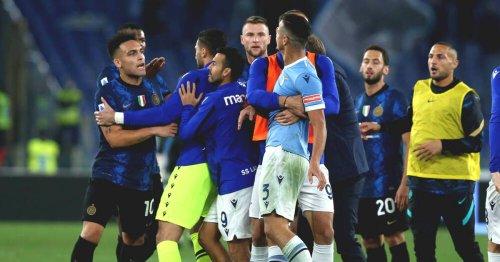 Verrückter Platzverweis bei Lazio-Sieg gegen Inter nach Schlusspfiff