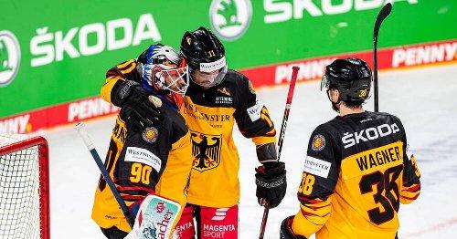 Eishockey: Deutschland gelingt bei WM-Generalprobe gegen Weißrussland Sieg