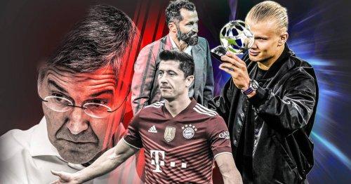 FC Bayern & Haaland und Lewandowski: Warum sich die Bayern so schwertun