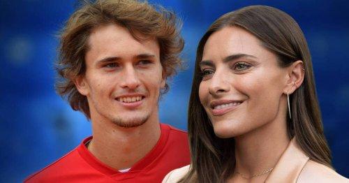 Tennis: Alexander Zverev schwärmt von Sophia Thomalla