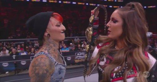 Ruby Soho & Britt Baker liefern sich bei AEW-Rampage ein Wortduell mit WWE-Bezug