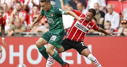 Mario Götze kassiert mit PSV Eindhoven Klatsche gegen Feyenoord