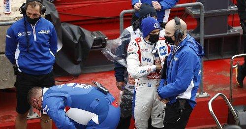 Formel 1, Imola: Haas-Pilot Mick Schumacher ärgert sich, Mazepin hinter ihm