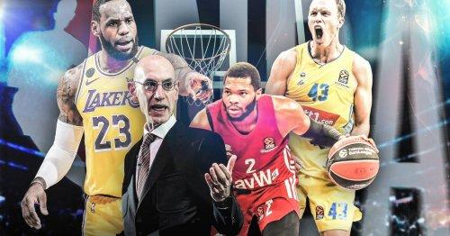 Basketball: NBA Europe statt EuroLeague mit FC Bayern und ALBA Berlin? So ist die Lage