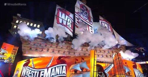 WWE WrestleMania 37 heute live: Stage, Matches, TV, Stream