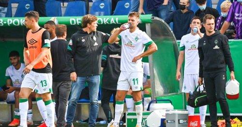 Werder Bremen: Niclas Füllkrug nach Streit mit Clemens Fritz suspendiert