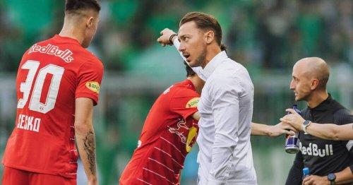 FC Salzburg: Trainer Jaissle über Adeyemi, Sesko und Gegner Wolfsburg