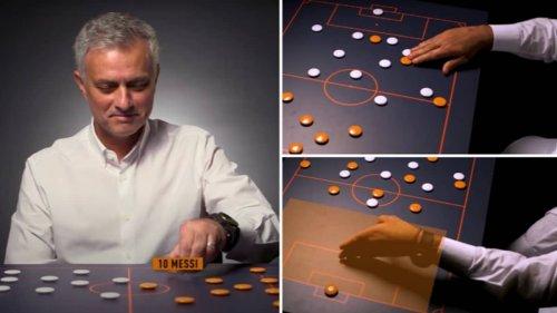 Jose Mourinho Explaining His Tactics To Beat A Prime Barcelona Shows His Insane Level Of Detail