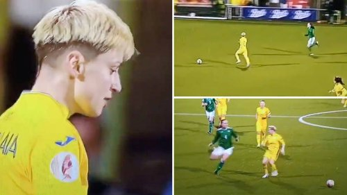 Ukraine vs Republic Of Ireland Women Contained One Of The Most Cynical Fouls In Football History