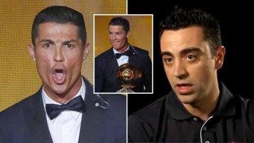 Xavi Wasn't Best Pleased When Cristiano Ronaldo Labelled Himself The GOAT