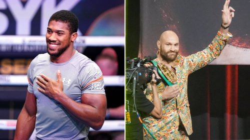 """Tyson Fury """"More Than Welcome"""" To Help Me Train For Usyk Rematch, Anthony Joshua Claims"""