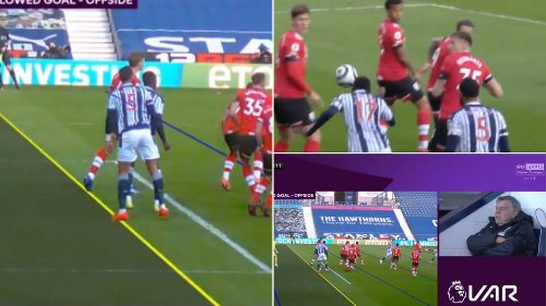 West Brom Goal Controversially Disallowed By VAR Offside Check