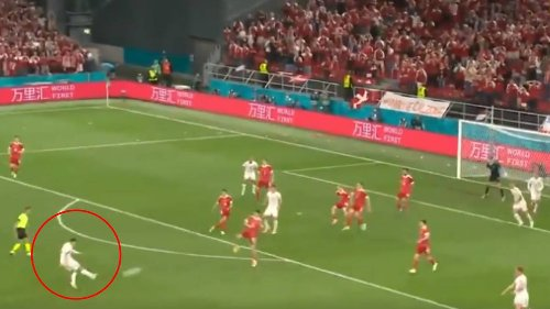 Andreas Christensen Fires In Absolute Rocket As Denmark Qualify For Euro 2020 Last 16