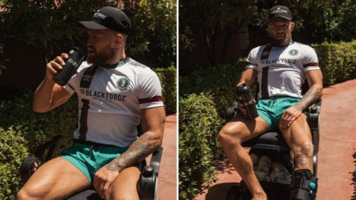 Conor McGregor's Next Fight Will Be A Wheelchair Boxing Match