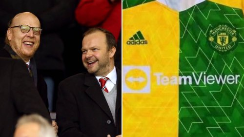 Adidas Rumoured To Be Launching Controversial Manchester United Green And Gold Kit