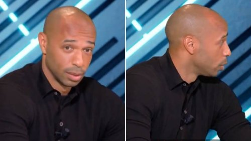 Thierry Henry Had A Priceless Reaction To Tottenham Being In The Europa Conference League