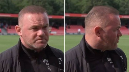 Derby Manager Wayne Rooney Gives Brutally Honest Post-Match Interview After Salford Defeat