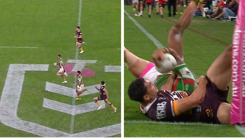 Xavier Coates Produces Try-Saving Tackle Of The Season After Running The Full Length Of The Field