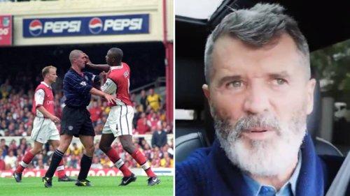 Roy Keane Snubs Patrick Vieira When Picking His Toughest Ever Opponent