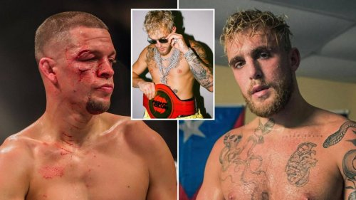Nate Diaz 'Confirmed' To Finally Fight Jake Paul After Tommy Fury Showdown