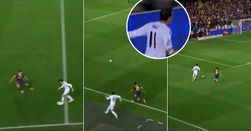 On This Day: Gareth Bale Showed 99 Pace To Spectacularly End Marc Bartra