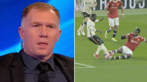 Paul Scholes Says Paul Pogba Should Never Play For Manchester United Again