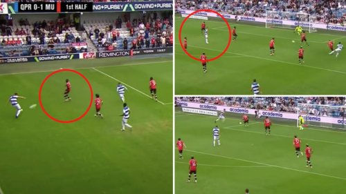 Footage Of Aaron Wan-Bissaka Against QPR Emerges After Charlie Austin's Said 'He Can't Defend'