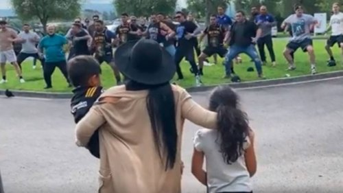 Sean Wainui's Family Perform Spine-Tingling Haka At New Zealand Rugby Star's Funeral