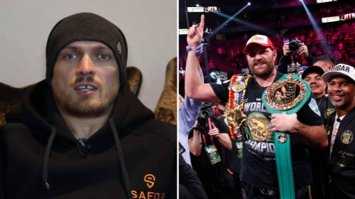 Oleksandr Usyk Takes Swipe At Tyson Fury, Claims He Can Beat 'The Gypsy King'