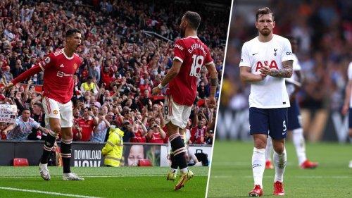 Premier League kompakt: Ronaldo feiert Traum-Comeback - Spitzenreiter Tottenham patzt