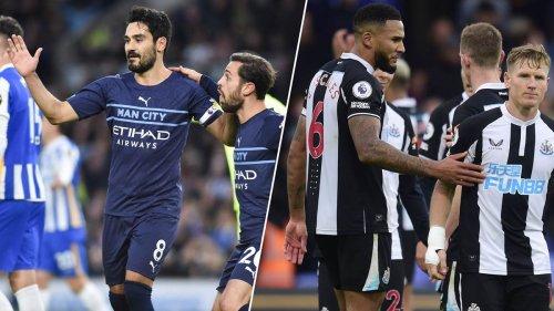 Kompakt: Gündogan schießt ManCity auf Platz zwei - Newcastle weiter sieglos