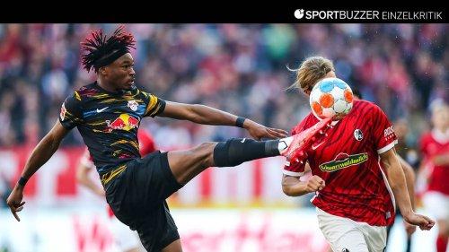 RB Leipzig in der Einzelkritik: Die Noten zum glücklichen 1:1-Unentschieden in Freiburg