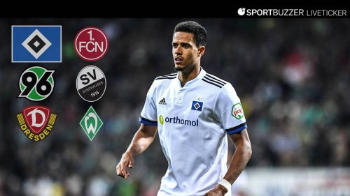 Zweitliga-Konferenz im Liveticker mit dem HSV, Hannover 96 und Werder