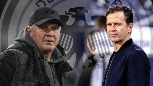 """""""Größtes Problem"""": Effenberg und Bierhoff beklagen Mittelstürmer-Mangel im DFB-Team"""